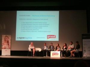 Završni panel - Budućnost onlajn izdavaštva