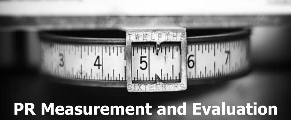 Merenja i evaluacija u PR-u