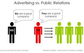 advertising vs. public relations