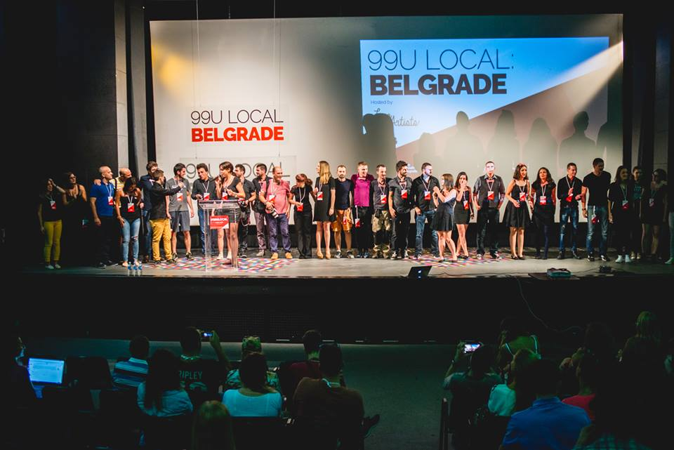 Organizacioni tim konferencije 99U local: Belgrade